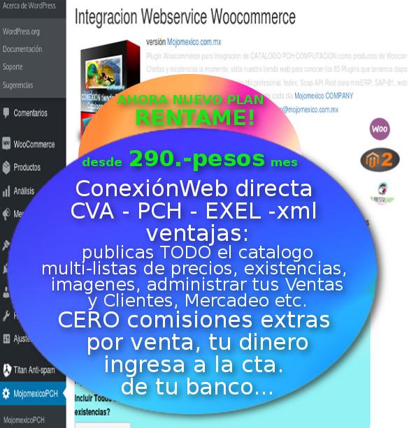 Conexion CVA Mayorista con Tienda Web