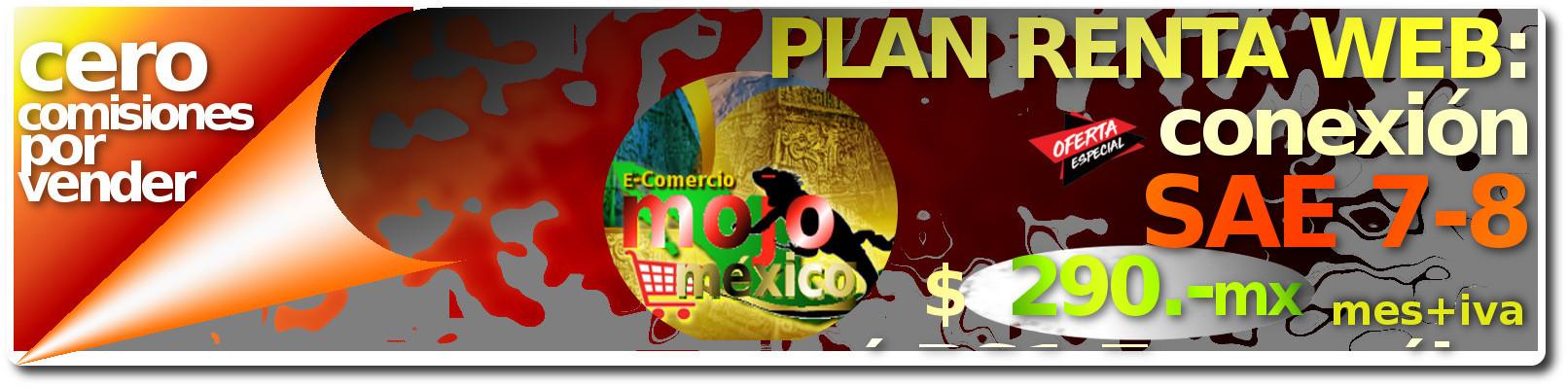 Conexion SAE-web Mojomexico Plan Renta