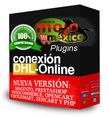 Conexion DHL Webservice con magento, prestashop, woocommerce,  opencart, joomla
